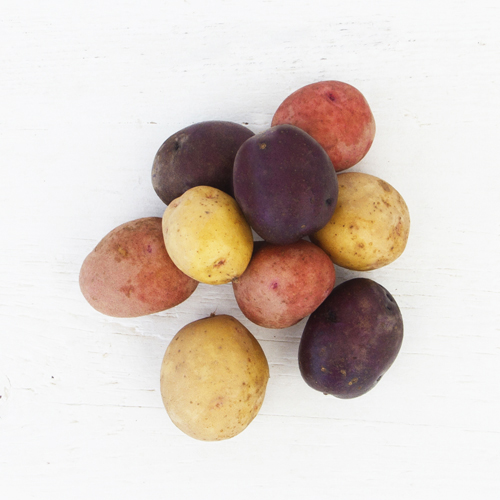Red, White, & Blue Potatoes